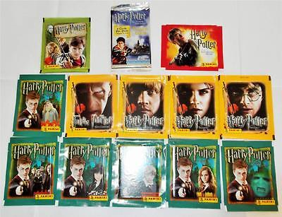 Harry Potter Cards & Stickers - Amazing Collection of 13 Different Sealed Packs