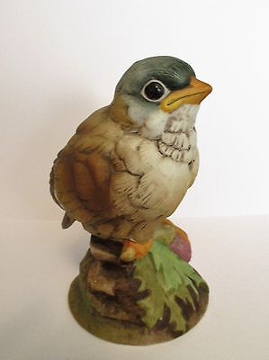 Vintage  Gold Finch Bird Figurine By Andrea #6350