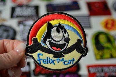FELIX THE CAT Animation Children Cloth Embroidered Patch Iron/Sew On Patches