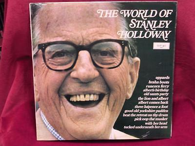 STANLEY HOLLOWAY - The World Of Stanley Holloway - Decca SPA 199 - 1971