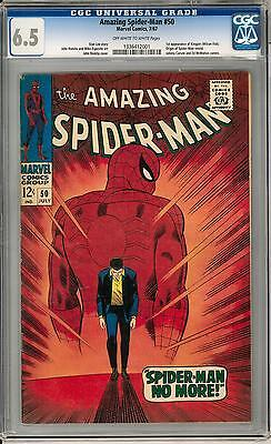 Amazing Spider-Man #50 CGC 6.5 (OW-W) 1st appearance of Kingpin