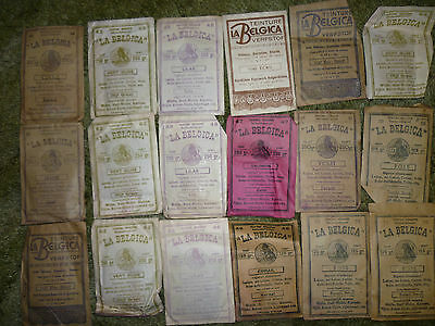 17 Packets Of 1920S / 1930S Unused Clothing Fabric Dye