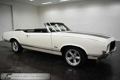 1971 Oldsmobile Cutlass Car 1971 Oldsmobile Cutlass Supreme Convertible