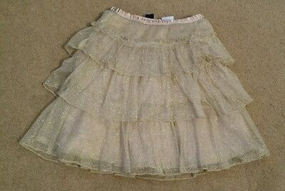 BNWT GAP Gold skirt with knickers 4yrs