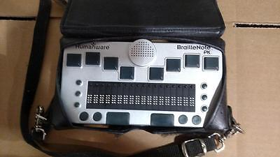 Humanware BrailleNote PK Blind Impaired Communicator Braille Note Keyboard