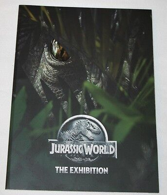 Jurassic World The Exhibition Theme Park Program Full Color 54 pages