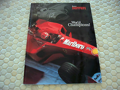 Ferrari Official Factory Issued Magazine Rosso #17 Brochure 2000