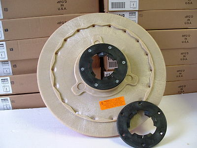 """14"""" Pad driver, to fit a 15"""" Floor Buffer & free spare plate ! Free shipping too"""
