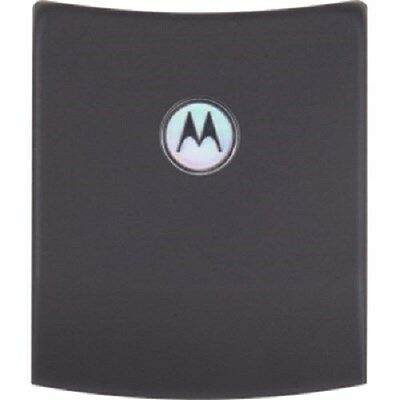 New OEM Motorola Extended Back Battery Door for Motorola RAZR2 V8 V9m - Gray