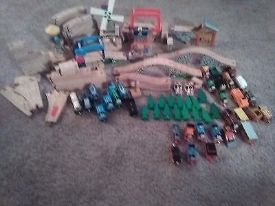 Huge Thomas The Tank Engine Lot Over 100 Pieces And Trains