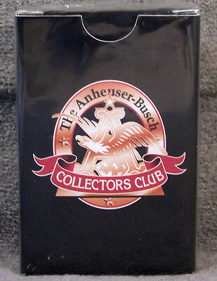 Playing Cards ~ Anheuser-Busch Collectors Club ~ Logo