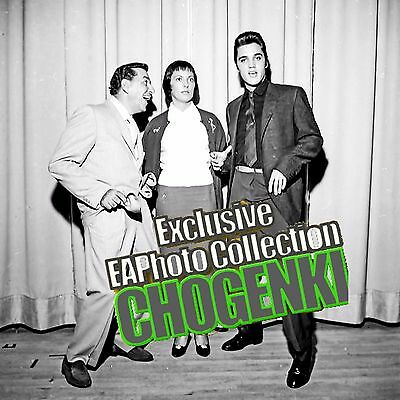 ELVIS PRESLEY, LOUIS PRIMA, KEELY-SMITH, SAHARA HOTEL CANDID from negative 1960