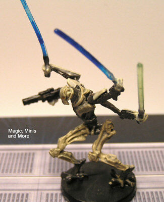 The Clone Wars ~ GENERAL GRIEVOUS, DROID COMMANDER #26 very rare Star Wars mini