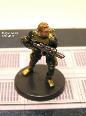 The Clone Wars ~ HUMAN SOLDIER OF FORTUNE #36 Star Wars miniature  WotC