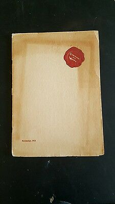 VTG Cardinal And White 1913 yearbook. Whittier Union High School (class of 1917)