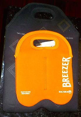 2 Neophane Wine Bag Bottle Cooler Bacardi Breezer Beer Insulated Carrier