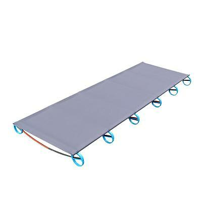 Folding BRS Picnic Cot Outdoor Aluminium Alloy Bed Portable Camping Lounger