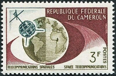 CAMEROON 1963 3f olive, purple and green SG337 mint MNH FG