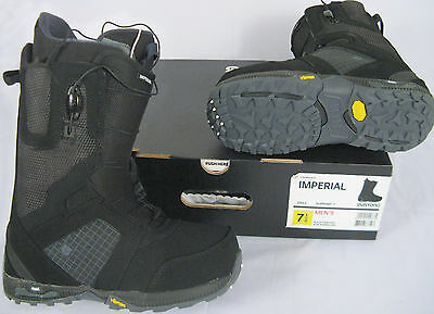 NEW! $300 Burton Imperial Mens Snowboard Boots!   *Black or Light Gray/Midnight*