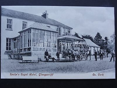 Ireland Cork GLENGARRIFF Coach & Horses at ROCHE ROYAL HOTEL - Old Postcard