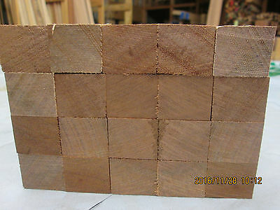 Timber Hardwood Solid Brazillian Mahogany  Sapele Offcuts  Planed 4 Sides