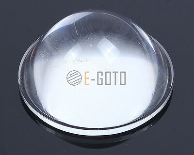 Optical Glass Convex Lens Precise For High Power LED Projector