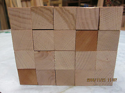 Timber Hardwood Solid Steemed  Beech Offcuts Planed 4 Sides