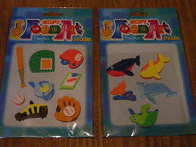Christmas soft foam stickers