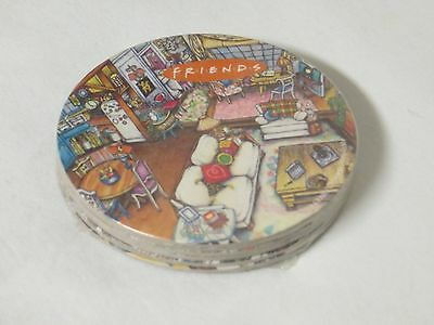 FRIENDS TV SHOW Collectible Drink Coasters Set of 6 SEALED NEW Living Room Scene