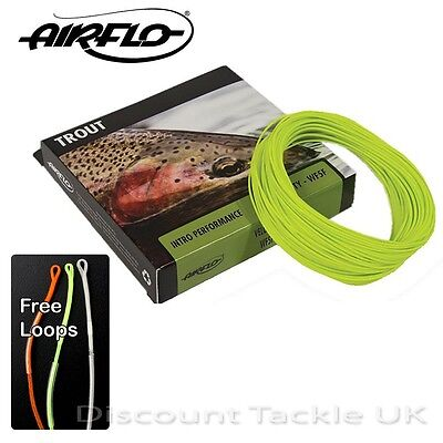 Airflo Velocity Weight Forward Floating Fly Line Wf 4 5 6 7 8 9 Choose Size