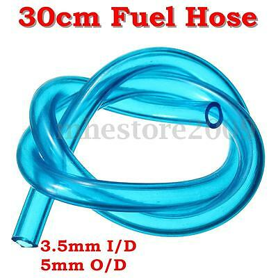 30CM Fuel Hose Gas Oil Tube Line Pipe 3.5mm I/D 5mm O/D For Chainsaw Brushcutter
