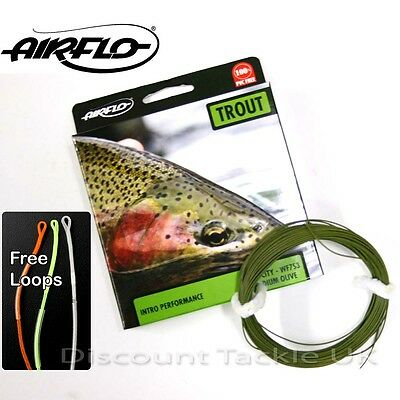 Airflo Velocity Weight Forward Sink Fly Line Wf  5 6 7 8  Choose Size