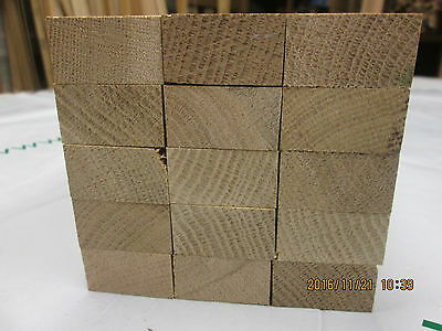 Timber Hardwood Solid American White Oak 1/4 Sawn Offcuts Planed 4 Sides