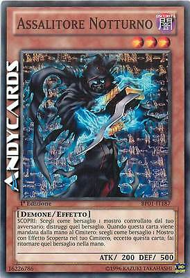 Assalitore Notturno ☻ Comune ☻ BP01 IT187 ☻ YUGIOH ANDYCARDS