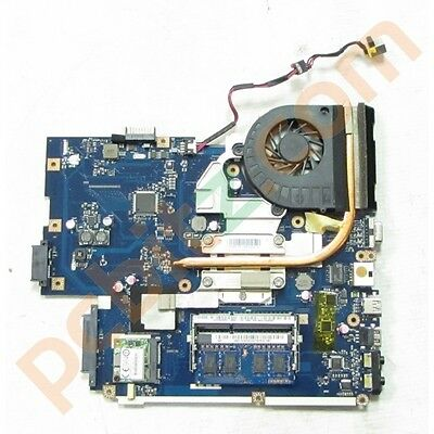 Acer TravelMate 5740 Motherboard + Core i3-350M CPU Heatsink and Fan