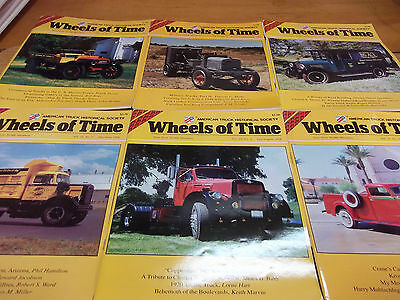 Wheels of Time magazine lot of 6 -  American Truck Historical Society (H)