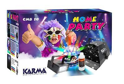 Karma CMB 10 - Kit Home party 2 + light effects machine bubbles