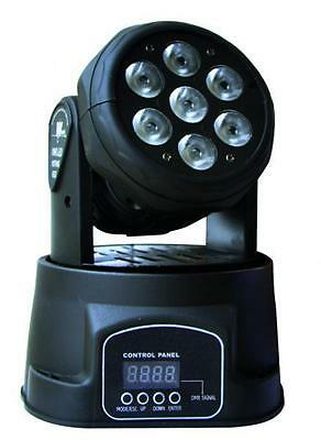 Karma TEDDY - Effect moving head light, 7 LED 10 W, 7/8 DMX channels AU