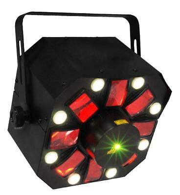 Karma DJ LED224 - Light Effect, 5 LED 3 W, 4 or 8 channel DMX, 320x320x280 mm AU