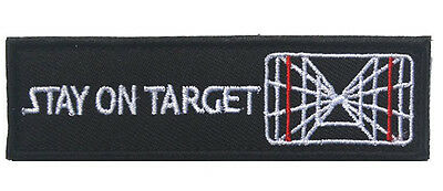 Star Wars Patch Stay On Target Tactical Usa Army Morale Badge Patch Sjk + 618