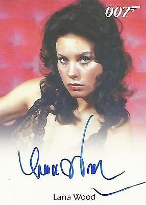 "James Bond Mission Logs - Lana Wood ""Plenty O'Toole"" Autograph Card"