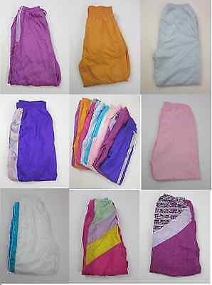 8 x VINTAGE SHELL SUIT BOTTOMS HEN PARTY 80S 90S HIP HOP WHOLESALE JOB LOT