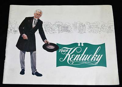 KENTUCKY SOUVENIR ADVERTISING TRAVEL & TOURISM BROCHURE GUIDE 1950s VINTAGE