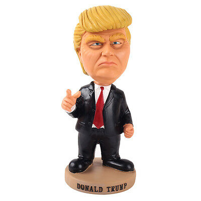 New 2016 Cute Presidential Donald Trump Doll Bobblehead Action Figure