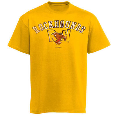Midland Rockhounds Ultra Cotton T-Shirt - Yellow - MiLB