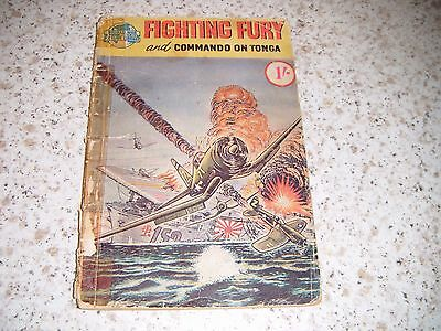 World War Picture Library Fighting Fury and Commando On Tonga:1960s