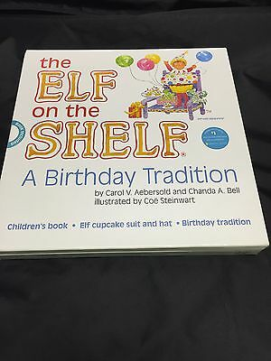 The Elf On The Shelf A Birthday Tradition Cupcake New Never Open