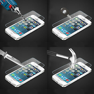 For iPhone 6/ 6S Tempered Glass Screen Protector Film Cover Perfect Adhesion UK