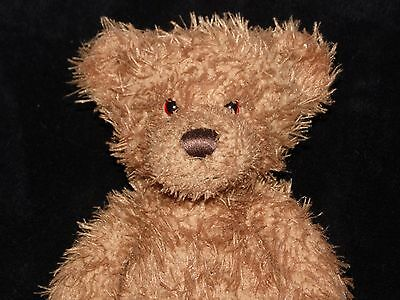 Harrods Teddy Bear Soft Toy Brown Grizzly Bear Comforter Doudou
