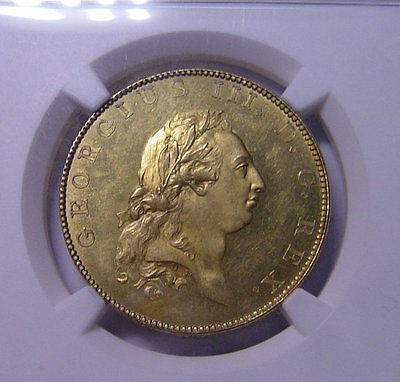 GREAT BRITAIN George III 1788 Half Penny Gilt Pattern NGC PF62 Rare coin